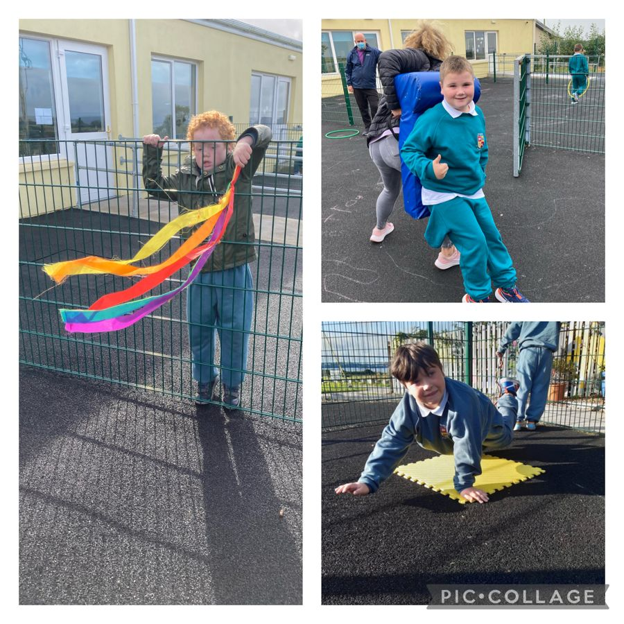 Fun and games in the playground